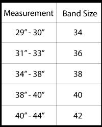 size-guide-band-chart